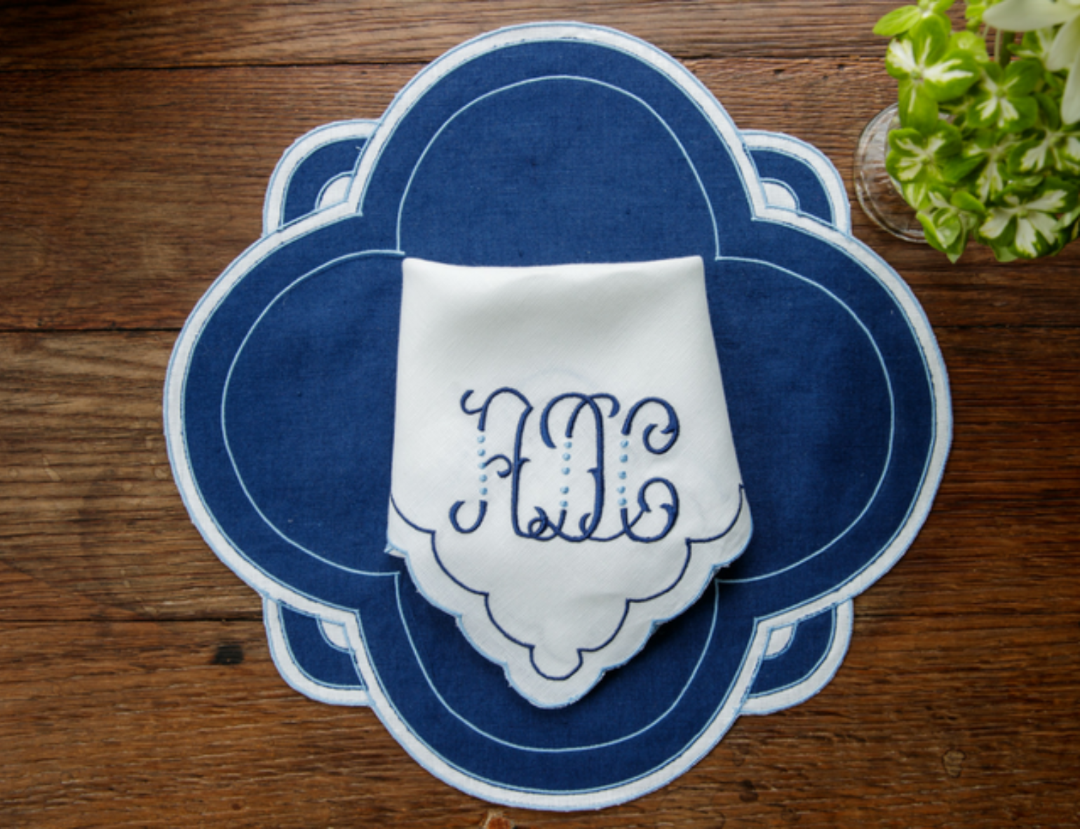 Leiger Embroidery Monogram