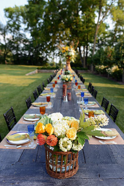 August 26 Outdoor Dining