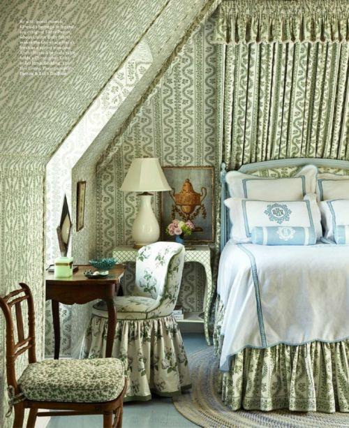 House Beautiful Usa   April 2015 Cathy Kincaid Bed