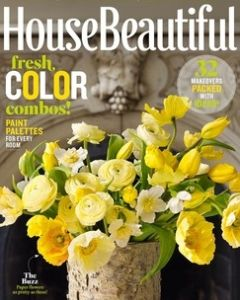 House Beautiful 2015 Cover