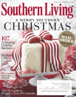 December Southern Living Cover