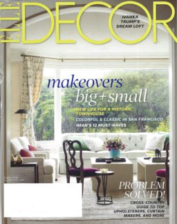 Elle Decor Cover 2014