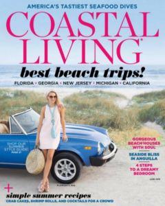 Coastal Living June 2016