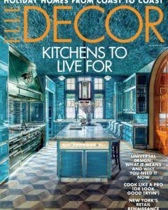 Elle Decor Cover November 2019
