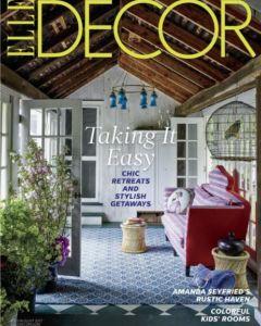 Elle Decor July 2017