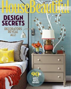 House Beautiful April 2016 Cover