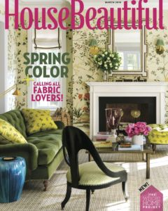 House Beautiful March 2018 Cover