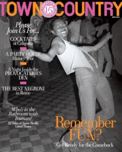 Town and Country April 2021 Cover