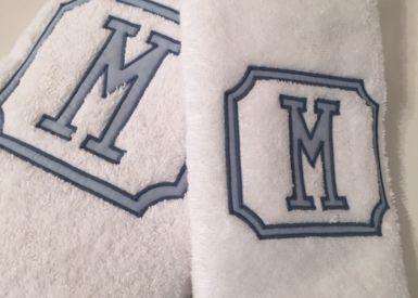 Bath Hand Towel Blake Applique