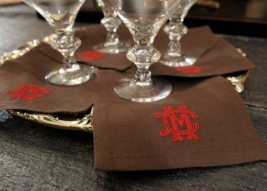 Dorea Cocktail Napkins
