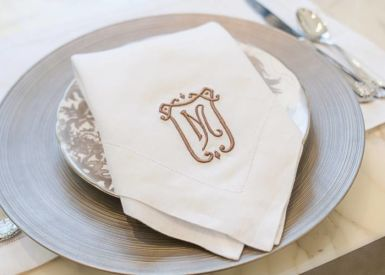Duke Embroidery Dinner Napkin