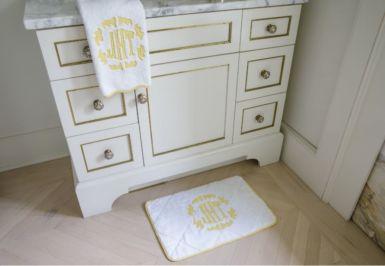 Celeste Bath Mat and Towel