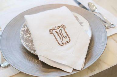 Duke Embroidery Dinner Napkin
