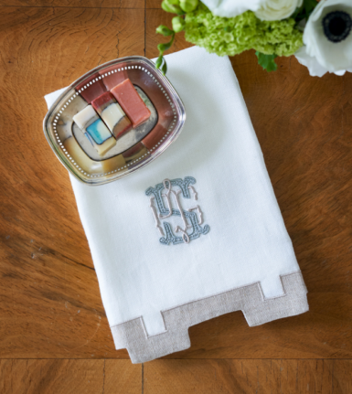 Henry and Delphine Guest Towel