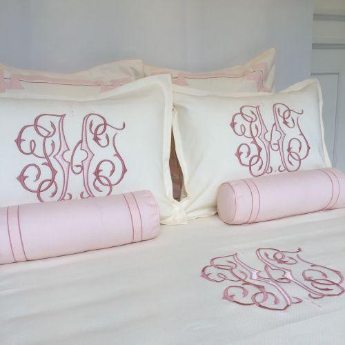 Bed Queen Alexa Embroidery Gwen 1 inch Band Applique