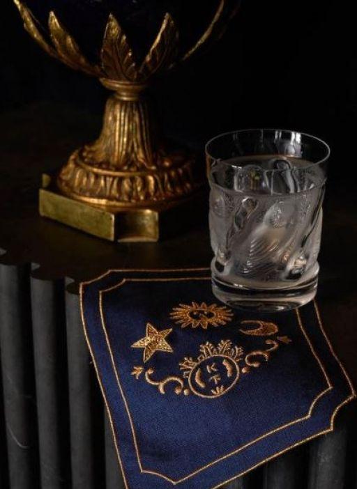 October 8 2021 Ken Fulk Cocktail Napkin